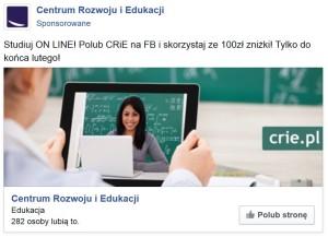 nowa oferta promocja- luty 2016 facebook